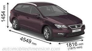 comparatif des voitures familiales avec dimensions et coffre