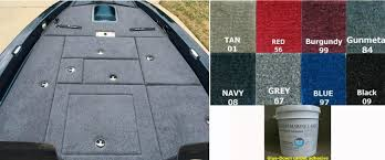 Installing Carpet In A Boat by Snap In Carpet By Custom Marine Carpet