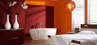 color blocking im badezimmer streichen mit trendfarben