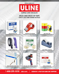 ULINE Cover Concept For Tape Catalog