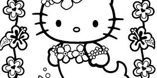 Hello Kitty Valentines Day Coloring Pages Printable