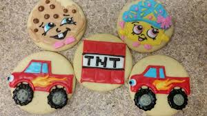 100 Monster Truck Cookies Shopkin And Mine Kraft Cookie Cutouts For You