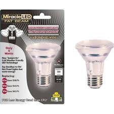 miracle led 603005 5 watt led beam security bulb wide angle