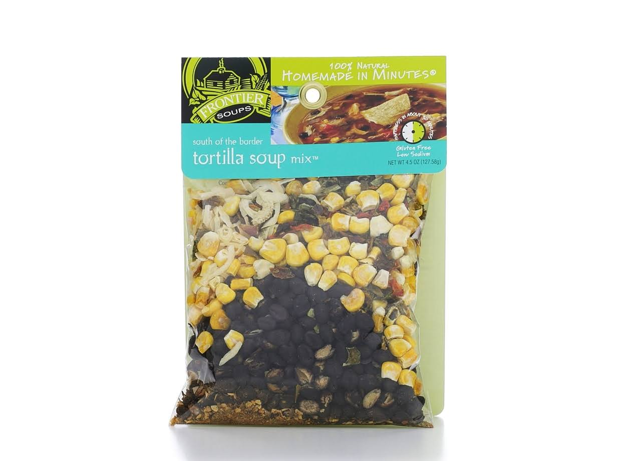 Frontier Soups Homemade In Minutes Soup Mix - South of The Border Tortilla, 130ml