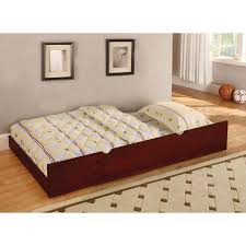 furniture of america parker twin trundle bed walmart com