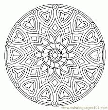 Free Background Coloring Mandala On Printable Pages Read More About