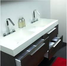 Trough Sink Vanity With Two Faucets by Trough Sink With Two Faucet U2013 Meetly Co