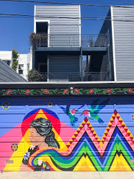 Balmy Alley Murals Mission District by Tacos Color Inspiration On Balmy Alley U2014 Limitless San Francisco