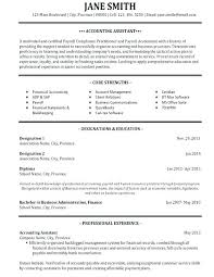 Accounting Resume Examples 2014 And Resumes Templates To Create Awesome For Retail