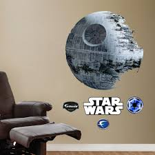 Fathead Baby Wall Decor by Wars Death Star Wall Decals By Fathead