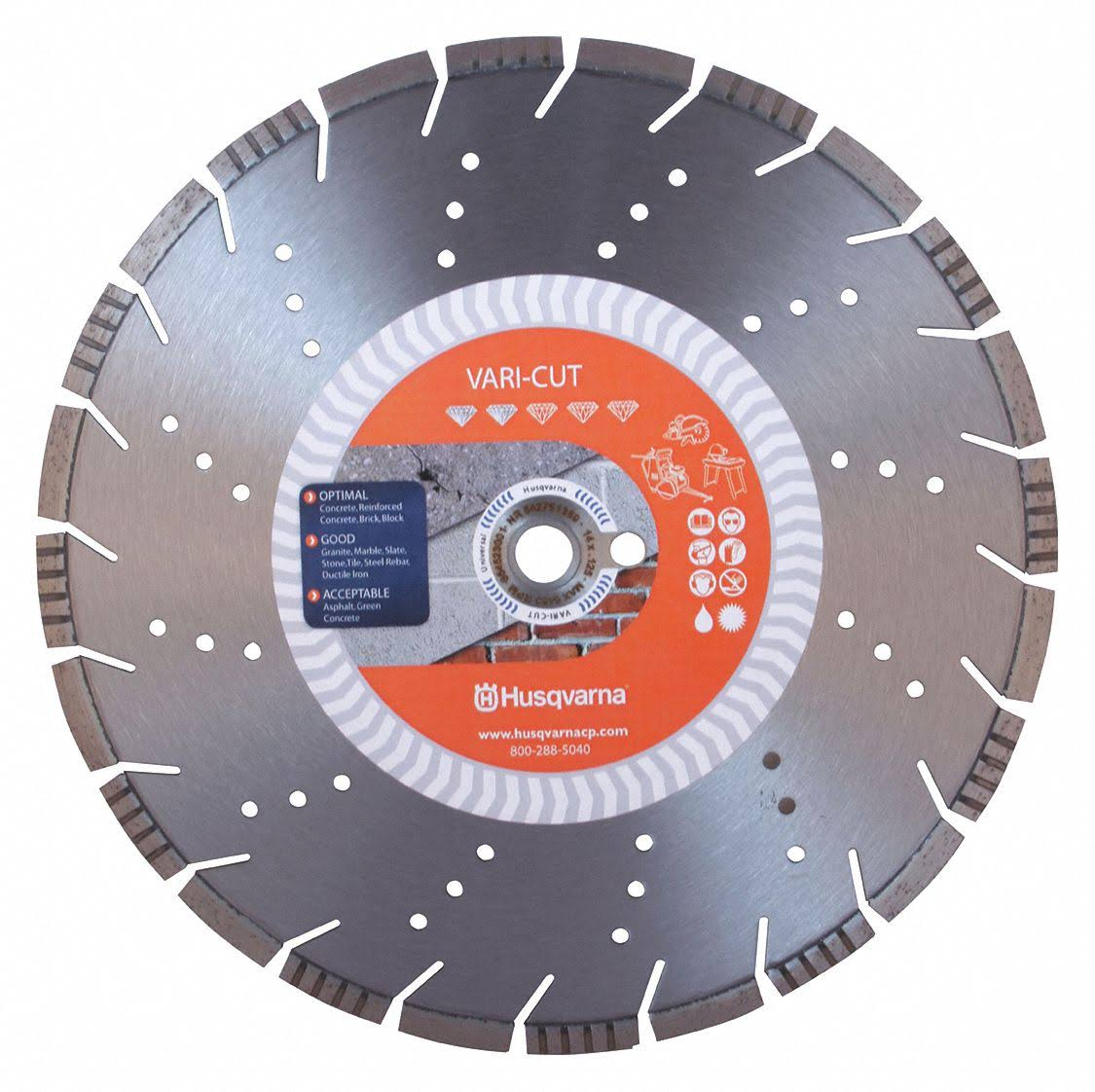 Husqvarna 542751359 Vari Cut Diamond Saw Blade - 14""