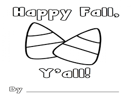 Download Coloring Pages Candy Corn Page Sheet