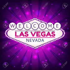 las vegas casino sign casino neon billboard welcome las vegas