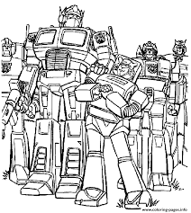 Transformers 34 Coloring Pages