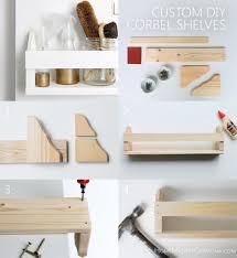 diy corbel shelves home made by carmona