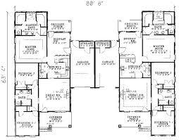 Photos And Inspiration Multi Unit Home Plans by Best 25 Duplex House Plans Ideas On Duplex House