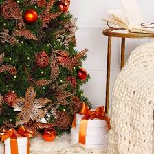75 Ft Slim Christmas Tree by 7 5ft Pre Lit Artificial Christmas Tree Slim Led Enchanted Forest