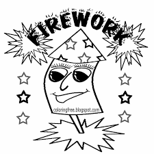 Guy Fawkes November 5th Bonfire Night Clipart Firework Printable Rocket Coloring Pages For Teenagers