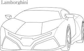 12 Pics Of Lamborghini Cars Coloring Pages To Print