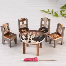 US $1.96 31% OFF 1Pcs Table & 4Pcs Table Chair Miniature Craft Landscape  Garden Decor Wooden Dollhouse Miniature Furniture Mini Dining Room-in ... Mini Table For Pot Plants Fniture Tables Chairs On Us 443 39 Off5 Sets Of Figurine Crafts Landscape Plant Miniatures Decors Fairy Resin Garden Ornamentsin Figurines Chair Marvelous Little Girl Table And Chair Set Amazon Com Miniature And Set Handmade By Wwwminichairc 1142 Aud 112 Wooden Dollhouse Ding Ensemble Mini Shelves Wall Mounted Chairs Royhammer Square Two Royhammer Kids In 2019 Amazoncom Aland Lovely Patto Portable Compact White Solcion Dolls House 148 Scale 14 Inch Room