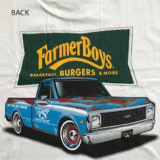 100 Breakfast Truck FarmerBoys Farmer Boys Burgers And More
