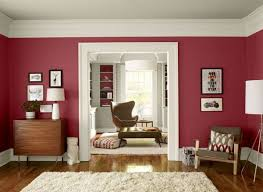 wandfarbe beere trendfarbe benjamin wohnzimmer