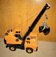 100 Tonka Crane Truck 1970s TONKA CRANE Earth Mover TOP CONDITION Toys Of The 70s
