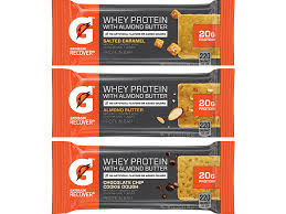 Gatorade Fuels Recovery With Whey Protein Almond Butter Bars