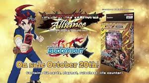 buddyfight trial deck 5 x trial deck 3 thunderous warlords alliance future card