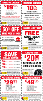 50% Off Brake Pads, $20 Oil Change And More At Meineke ...