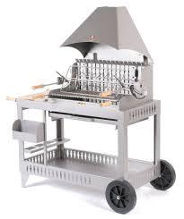 cuisine le modã le mechoui inox avec desserte le barbecue charbon