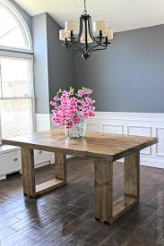 How To Build A DIY Husky Modern Dining Table Free Plans By Jen Woodhouse