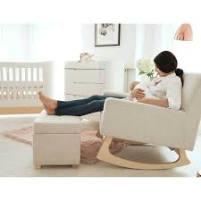 Gaia Baby Serena Rocking Chair - Oat