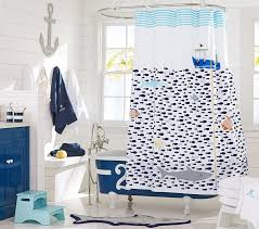 Shower Curtains For Kids Bathrooms Under The Sea Shower Curtain