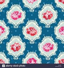 Vector Seamless Vintage Floral Background