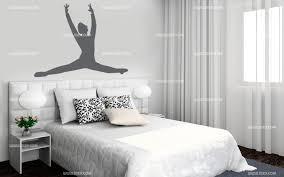 chambre de danseuse stickers danseuse saut