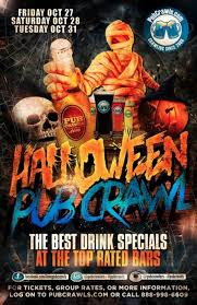 New York Halloween Parade Route Map by Halloween Pub Crawl New York City Tickets Bar None New York