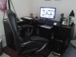 Mainstays Desk Chair Black by Mainstays 3 Piece Office Set Black Walmart Com