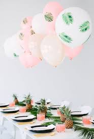 Add Some Tropical Vibes To Your Baby Shower With Pineapples And Palm Leaves This Chic Spring Party