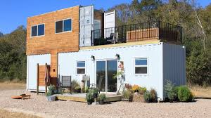 100 Houses Built From Shipping Containers Familys TwoStory Container Tiny Home