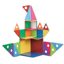 amazon com magna tiles 33 pc gs set connection guide toys games