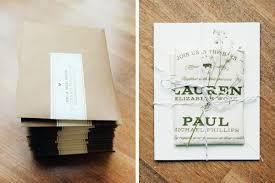 Rustic Fabric Barn Wedding Invitations By Jessi Evans Via Oh So Beautiful Paper 2