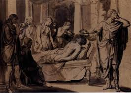 The Death Of Germanicus By Jacques Louis David