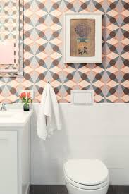 Colorful Wallpaper Above Half Tile Wall / Fun Bathroom Wallpaper ... Fun Bathroom Ideas Bathtub Makeovers Design Your Cute Sink Small Make An Old Bath Fresh And Hgtv Wallpaper 2019 Patterned Airpodstrapco Shower For Elderly Bathrooms Pictures Toddlers Bathroom Magazine Sherwin Williams Aviary Blue Kid Red Bridge Designing A Great Kids Modern Rustic Gorgeous Vanities Amazing Designs Decor Have Nice Poop Get Naked Business Easy Fun Design Tips You Been Looking 30 Tile Backsplash Floor Nautical Chaing Room For Pool House With White Shiplap No