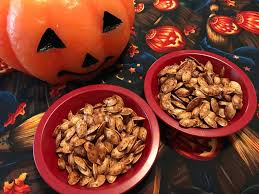 Roasting Pumpkin Seeds In The Oven Cinnamon by Hudson Valley Halloween Queen Airfried Cinnamon And Sugar