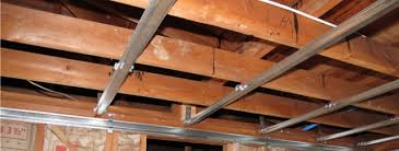 Ceiling Joist Spacing For Drywall by Mounting Your At Home Pole Safely Aerial Amy