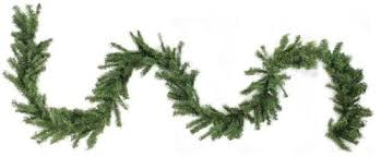 9 X 8 Canadian Pine Artificial Christmas Garland