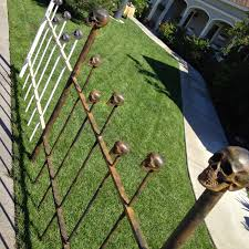 Halloween Graveyard Fence Prop by Dave Lowe Design The Blog Countdown To Halloween U002714 Day One