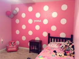 Pretty Red Minnie Mouse Bedroom Decor