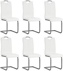 de festnight esszimmerstühle 6 stk